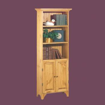<PRE>Cottage Country Pine Pine Cottage Bookcase Country Pine Stain 68 in. H</PRE>zoom2