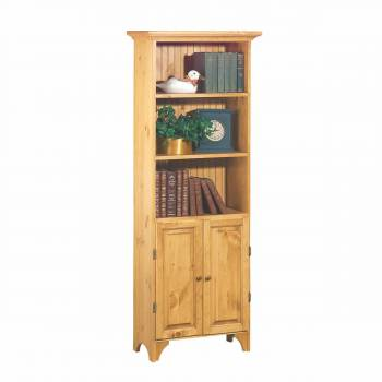 Bookcases Country Pine Cottage Bookcase 68'' H666832grid