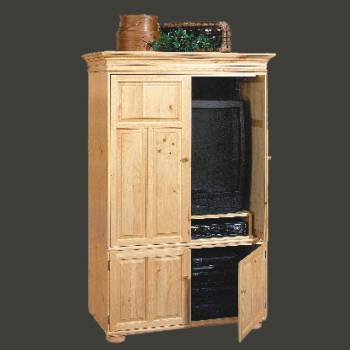 <PRE>Wentworth Country Pine Pine Wentworth Deluxe Entertainment Center</PRE>