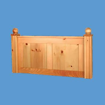 <PRE>Headboard Country Pine Wentworth Twin Size </PRE>