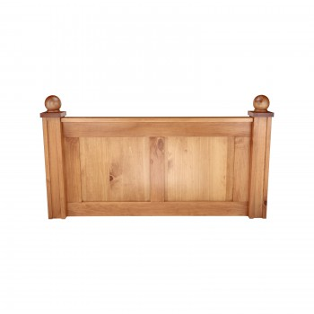 Headboard Heirloom Pine Twin Size 667089grid
