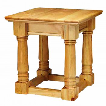 End Tables Natural Unfinished Pine Mission End Table 23