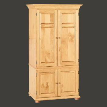 spec-<PRE>Wentworth Country Pine Computer Cabinet</PRE>