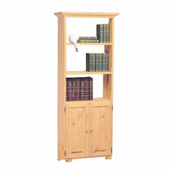 Wentworth Country Pine Pine Wentworth Bookcase Country Pine 68 in. H667158grid