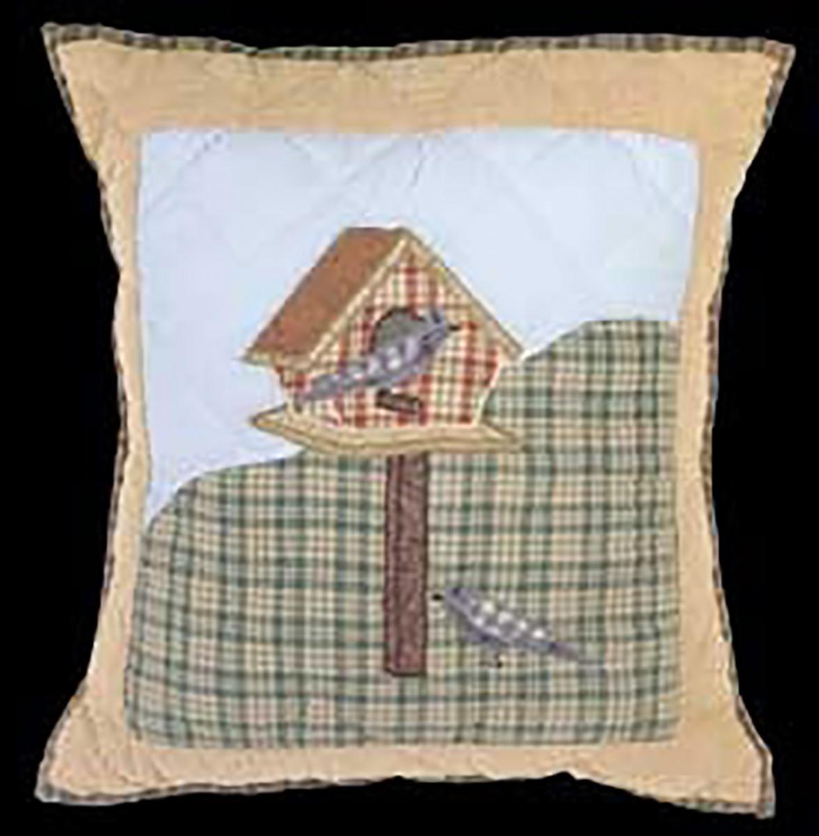 Pillows Birdhouse Sumer Cotton Pillow 18 x 16 Pillows Cotton Pillow Cotton Pillows