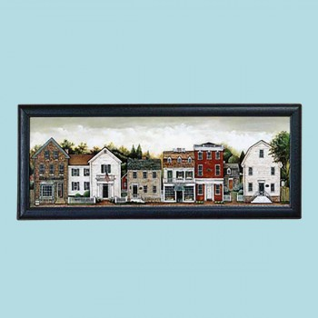 <PRE>Framed Print Small Town 39inch x 15&quot; </PRE>zoom2