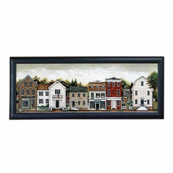 Framed Print Small Town 39