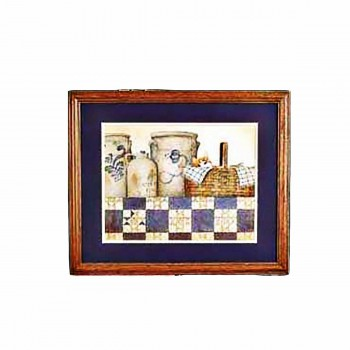 Framed Print Ohio Crockery Print 22