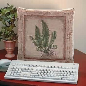 <PRE>Computer Cover Stone Green Woven Tapestry </PRE>zoom3