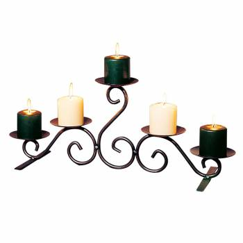 Candle Holders Black Wrought Iron 10
