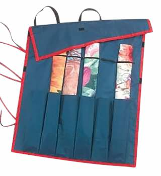 Blue Bag For Holding Rolled Flag 67352grid