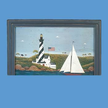 "spec-<PRE>Wall Art Coastal Breeze Print 34 1/4"" x 25 1/8"" </PRE>"