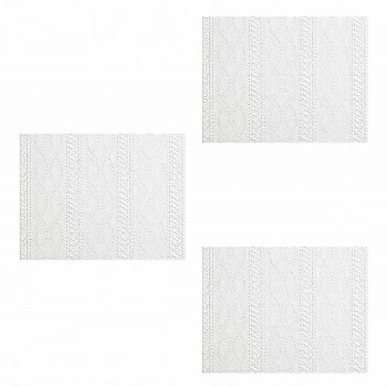3 Wallpaper White Vinyl Textured Vinyl Embossed Wall Covering Greenwich