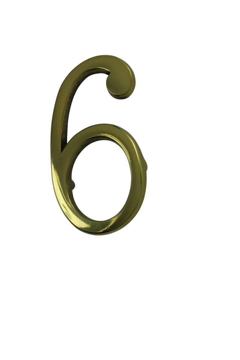 Bright Solid Brass 3 Address House Number 39 6 39 39 9 39 Pin Mount