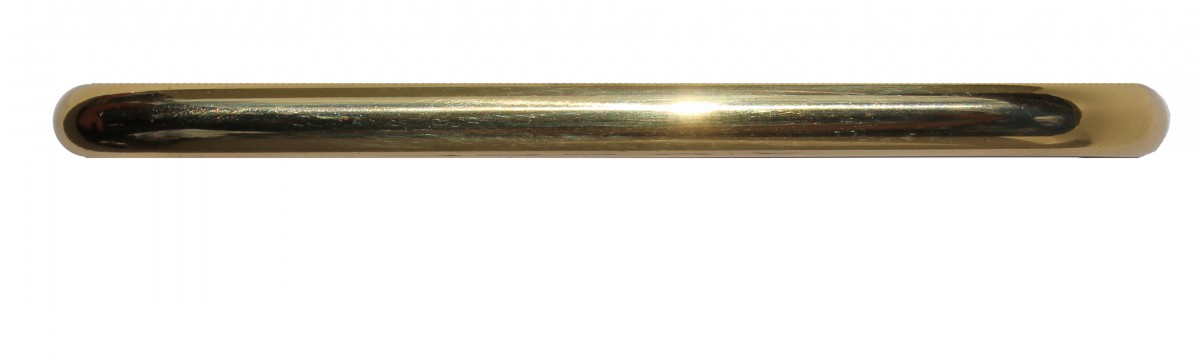 Cabinet Pull Bright Solid Brass Plain 4 12 Long Furniture Hardware Cabinet Pull Cabinet Hardware
