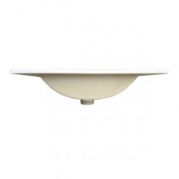 <PRE>Square Drop In Sink Self Rimming for Bathroom White Grade A China 24inch Centerset </PRE>zoom4