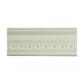 Renovators Supply  Ornate Cornice White Urethane Design 6 Pieces Totaling 564 Length White PrePrimed Urethane Crown Cornice Molding Cornice Crown Home Depot Ekena Millwork Molding Wall Ceiling Corner Cornice Crown Cove Molding