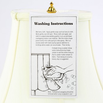 <PRE>2 Table Lamp White Alabaster Pillar Beige Shade 22inchH </PRE>zoom9