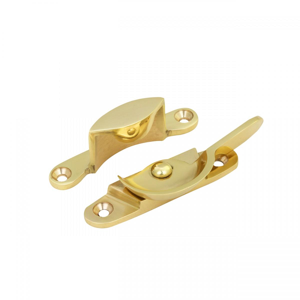 Window Sash Lock Traditional Bright Solid Brass 2 58 W 4 Pack Window Pulls Window Lifts Sash Lift