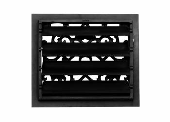 <PRE>2 Floor Heat Register Louver Vent Victorian Cast 12 x 14 Duct </PRE>