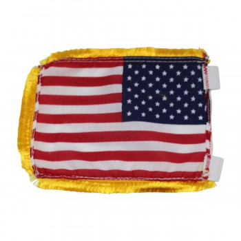 <PRE>US Flag Cotton Gold Fringe 4 1/2inchH </PRE>zoom3