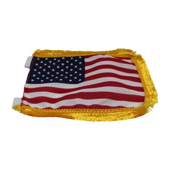 <PRE>US Flag Cotton Gold Fringe 4 1/2inchH </PRE>zoom5
