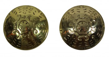 <PRE>Passage Door Knob Set Solid Brass  2 3/8inch </PRE>zoom4
