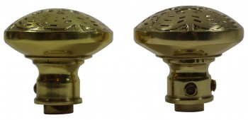 <PRE>Passage Door Knob Set Solid Brass  2 3/8inch </PRE>zoom5