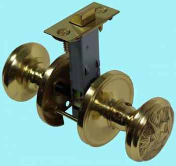 <PRE>Passage Door Knob Set Solid Brass Northwind 2 3/8inch </PRE>zoom2