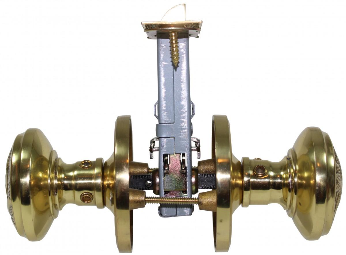 Passage Door Knob Set Solid Brass Northwind 2 38 Door Hardware Door Knob Sets Door Knob