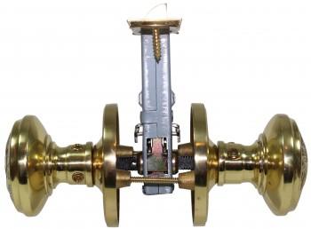 <PRE>Passage Door Knob Set Solid Brass Northwind 2 3/8inch </PRE>zoom6
