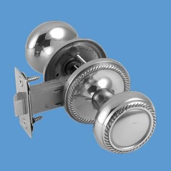<PRE>Door Knobs Bright Chrome 2 3/8inch Braided Door Knob Passage Set</PRE>zoom2