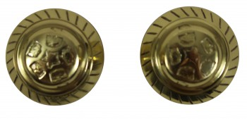 <PRE>Bright Solid Brass Six Dot 2 3/8inch Door Knob Passage Set</PRE>zoom4