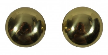 <PRE>Bright Solid Brass Colonial 2 3/8 inch Door Knob Passage Set</PRE>zoom5