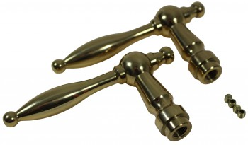 <PRE>Door Levers Bright Solid Brass Door Lever Passage Set Tapered 2 3/8 Ba</PRE>zoom4