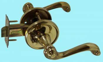 <PRE>Door Levers Bright Solid Brass Door Lever Passage Set Braided 2 3/8 Ba</PRE>zoom2