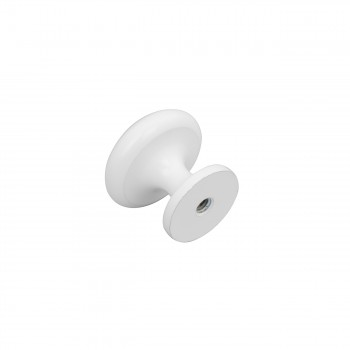 <PRE>Cabinet Knobs White Enamel Over Solid Brass 1 Inch diameter 5 Pack</PRE>zoom4