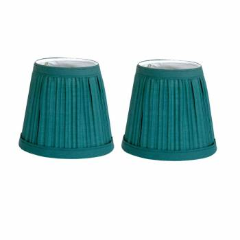 2 Fabric Lamp Shade Hunter Green 4 116 H Mini Clip