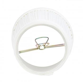 <PRE>Set of 2 Fabric Lamp Shade 4 1/16inch Mini Clip On </PRE>zoom4