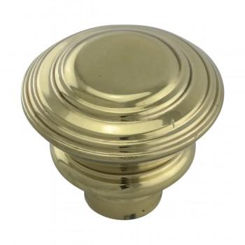 <PRE>2 Cabinet Knob Classic Brass 1inch Dia </PRE>zoom8