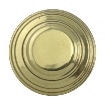 <PRE>2 Cabinet Knob Classic Brass 1inch Dia </PRE>zoom5