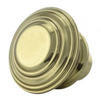 <PRE>2 Cabinet Knob Classic Brass 1inch Dia </PRE>zoom7