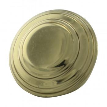 <PRE>2 Cabinet Knob Classic Brass 1inch Dia </PRE>zoom4