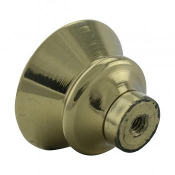 <PRE>2 Cabinet Knob Classic Brass 1inch Dia </PRE>zoom10