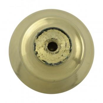 <PRE>2 Cabinet Knob Classic Brass 1inch Dia </PRE>zoom11