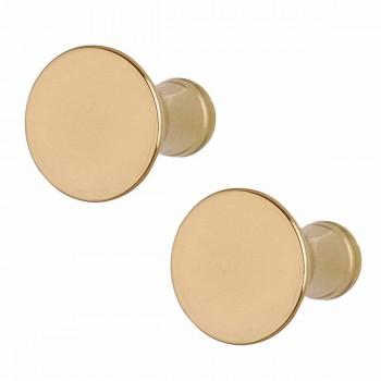 <PRE>2 Cabinet Knob Classic Brass 1inch Dia </PRE>zoom1