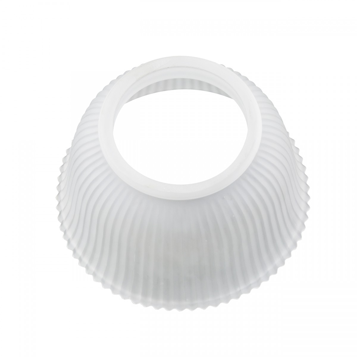 6 Lamp Shade White Glass Traditional 3 58 H x 4 Fitter Lamp Shades Lamp Shade Glass Lamp Shade