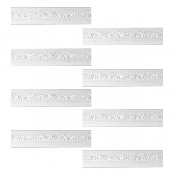 <PRE>Renovator's Supply Cornice White Urethane Donnegal Ornate Design 8 Pieces Totaling 631inch Length</PRE>zoom1