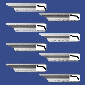 <PRE>Renovator's Supply  Ornate Cornice White Urethane Design 8 Pieces Totaling 752inch Length</PRE>zoom2