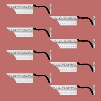 <PRE>Renovator's Supply Ornate Cornice White Urethane Giovane Design 8 Pieces Totaling 768inch Length</PRE>zoom2